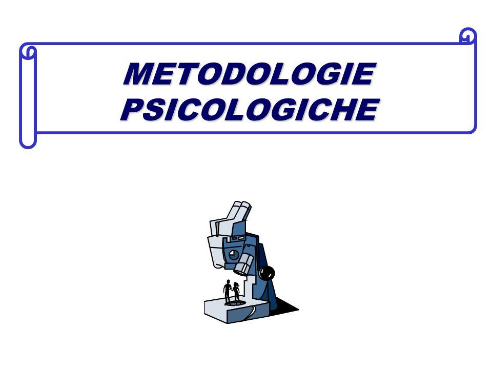 METODOLOGIE PSICOLOGICHE