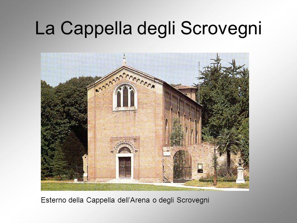 La Cappella degli Scrovegni La Cappella degli Scrovegni vista attraverso il recinto dell'Arena.