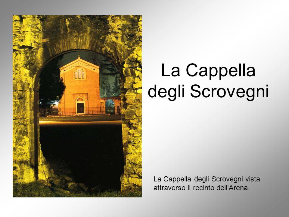 Il committente e l'ideologo Enrico Scrovegni Altegrado De' Cattanei.