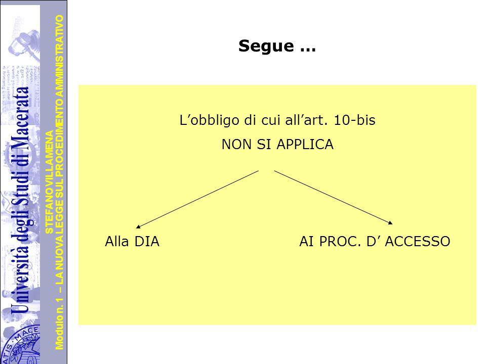 Università degli Studi di Perugia Modulo n. 1 – LA NUOVA LEGGE SUL PROCEDIMENTO AMMINISTRATIVO STEFANO VILLAMENA Segue … un caso recente Tar Lazio, Ro