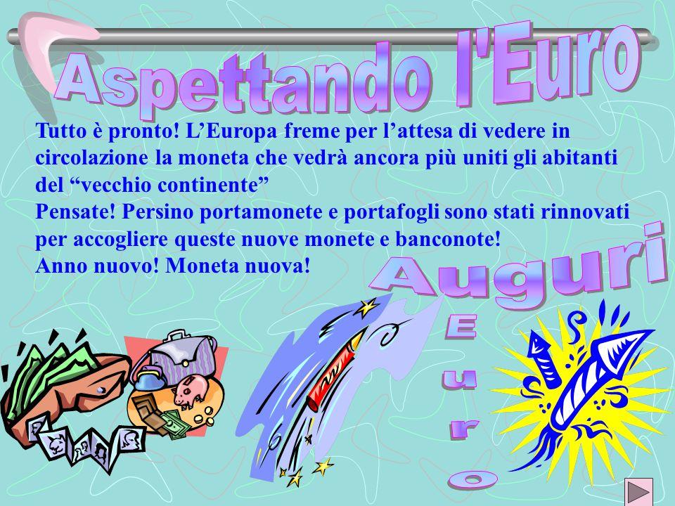 Dal BARATTO all'EURO PRESENTANO Anno Scolastico 2001/2002