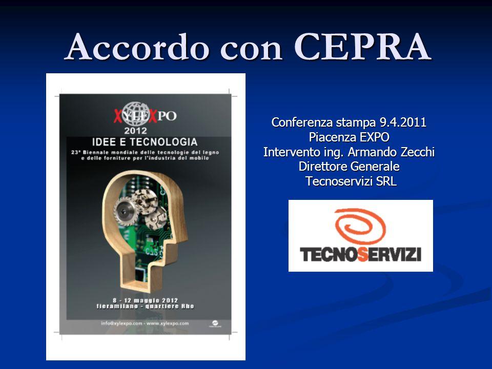 Accordo con CEPRA Conferenza stampa 9.4.2011 Piacenza EXPO Intervento ing.