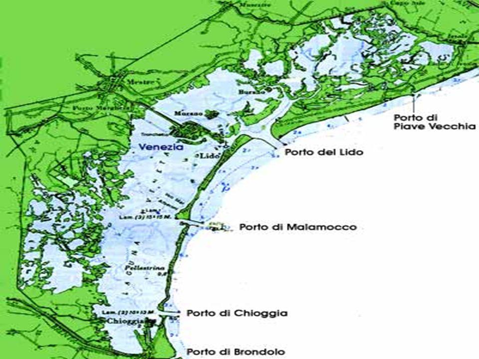 L'evoluzione naturale della laguna L'interramento. Un esempio: l'antico porto di Classe (Ravenna)