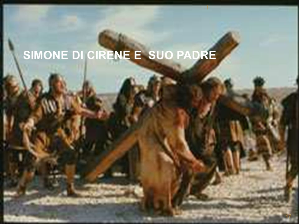 SIMONE DI CIRENE E SUO PADRE 1 17
