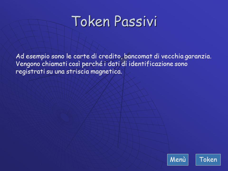 """Token Esso è un fattore di autenticazione della categoria """"quello che hai"""". L'utente deve possedere il token al fine di essere autenticato dal compute"""