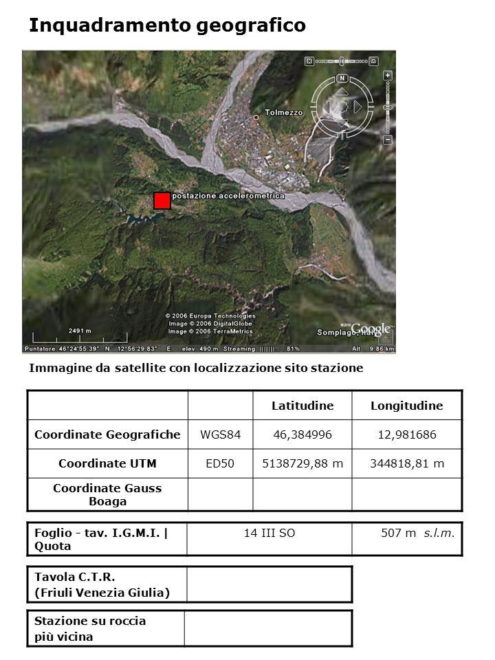 Dati acquisiti dalla stazione Stazione di TOLMEZZO codice strumento N° di registrazioni acquisite PGA max registrata [cm/s 2 ] Data evento in cui si è registrata il max valore di accelerazione TLM14 359,218 5/06/1076 TLM25 92,0 16/09/1977 TLB 27,84512/01/19780