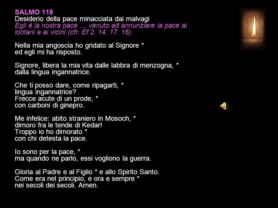 SALMO 81 Contro i giudici ingiusti Il mio giudice è il Signore: non vogliate giudicare nulla prima del tempo, finché venga il Signore (1 Cor 4, 5).