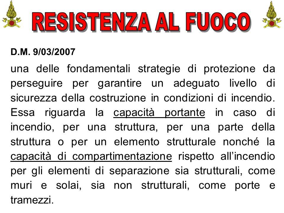 Comando VF FerraraIng. C. CUSIN55 D.M. 9/03/2007 una delle fondamentali strategie di protezione da perseguire per garantire un adeguato livello di sic