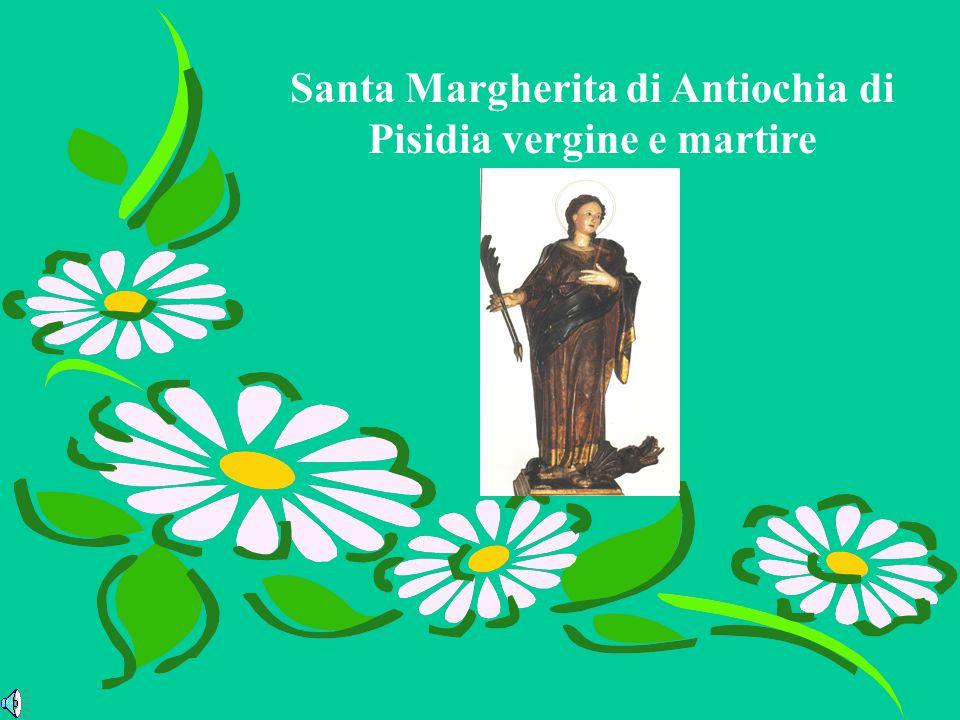 La prima memoria della martire antiochena in Occidente è segnata il 20 luglio nel Martirologio di Rabano Mauro, che la designa appunto con il nome di Margherita.