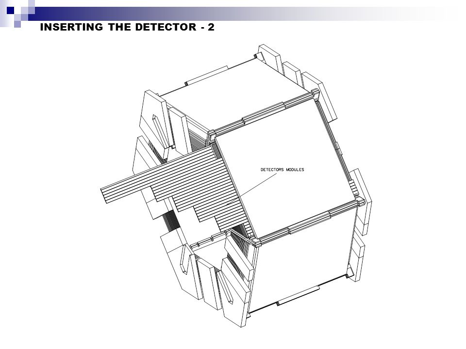 INSERTING THE DETECTOR - 2