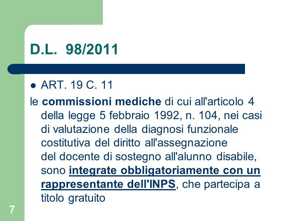 D.L.98/2011 ART. 19 C.