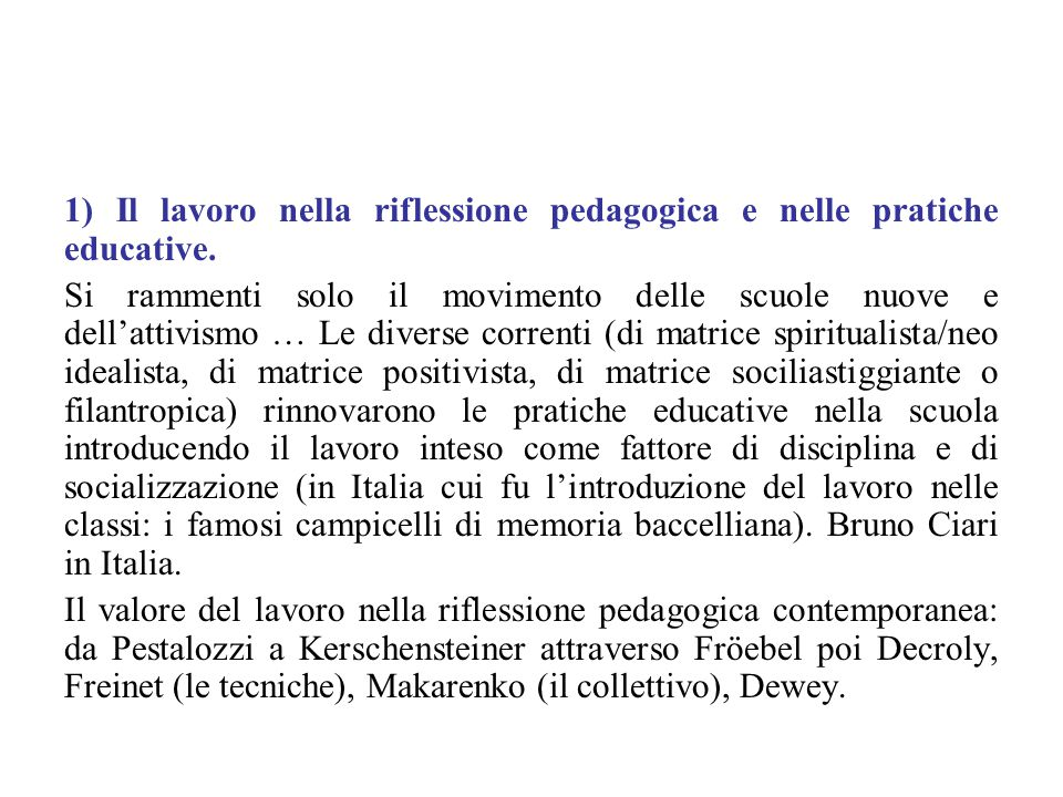 Conclusioni sulle Human Relations.