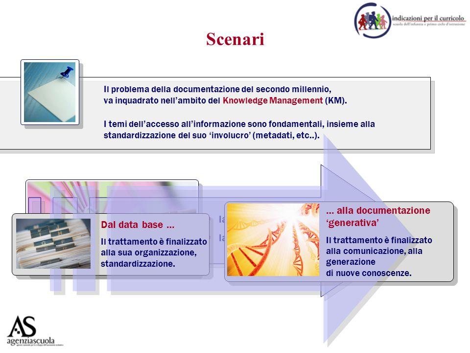 Il problema della documentazione del secondo millennio, va inquadrato nell'ambito del Knowledge Management (KM).  la 'produzione dell'informazione' 