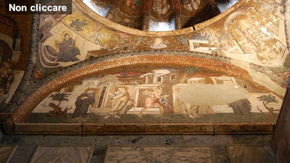 Immagini della chiesa di Kariye-Cadmi (Istanbul) uno dei più belli esempi d'arte bizantina (inizi V secolo) Non cliccare