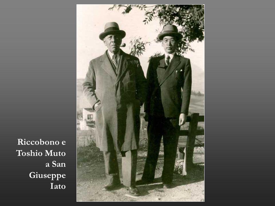 Riccobono e Toshio Muto a San Giuseppe Iato