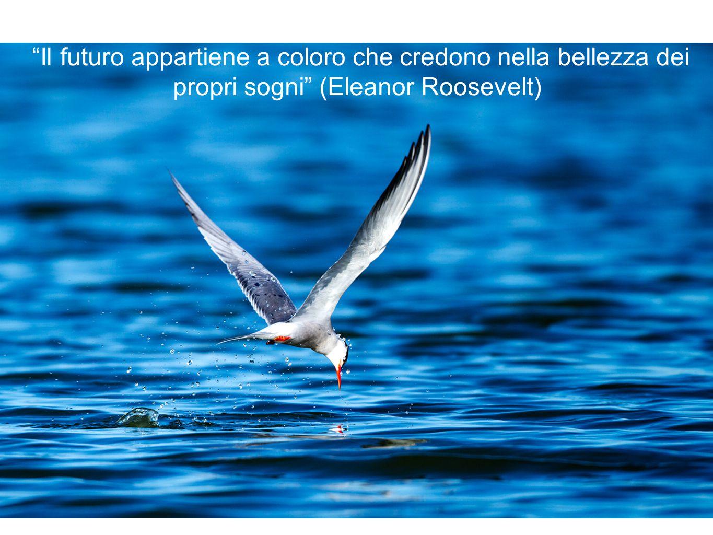 Il futuro appartiene a coloro che credono nella bellezza dei propri sogni (Eleanor Roosevelt)