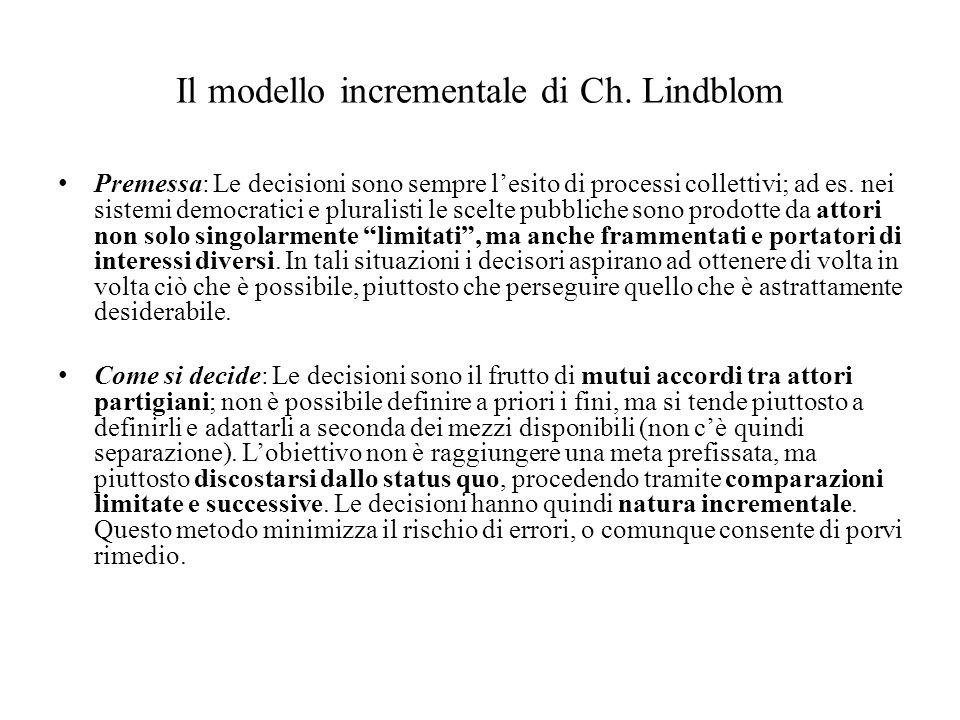 Il modello incrementale di Ch.
