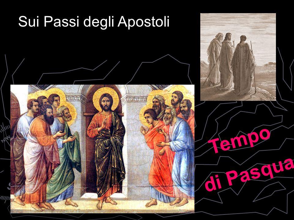 Sui Passi degli Apostoli Tempo di Pasqua