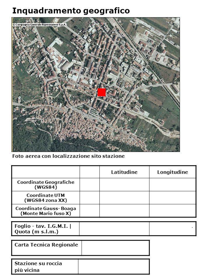 Carta geologica Sezione geologica A—A' Inquadramento geologico A A' BOJ