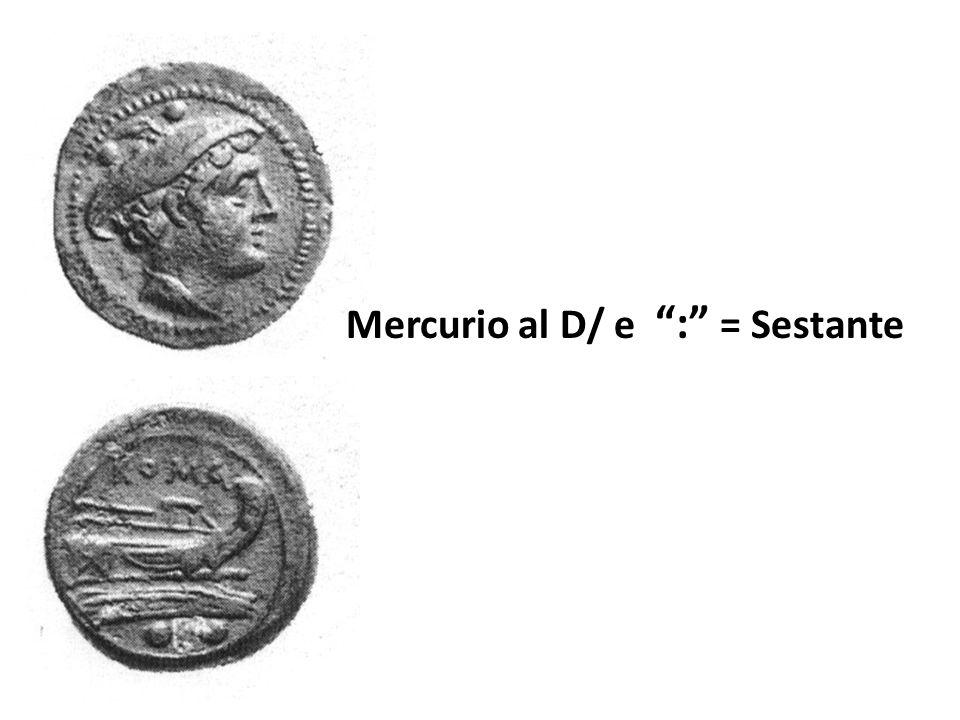 "Mercurio al D/ e "":"" = Sestante"