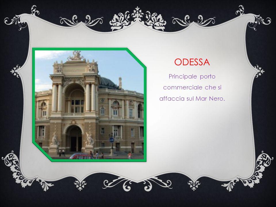 KIEV Capitale, importante centro commerciale. Fu la prima capitale della Russia. Si ricorda il monumento della cattedrale di Santa Sofia e altre chies
