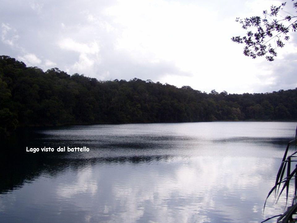Battello sul lago