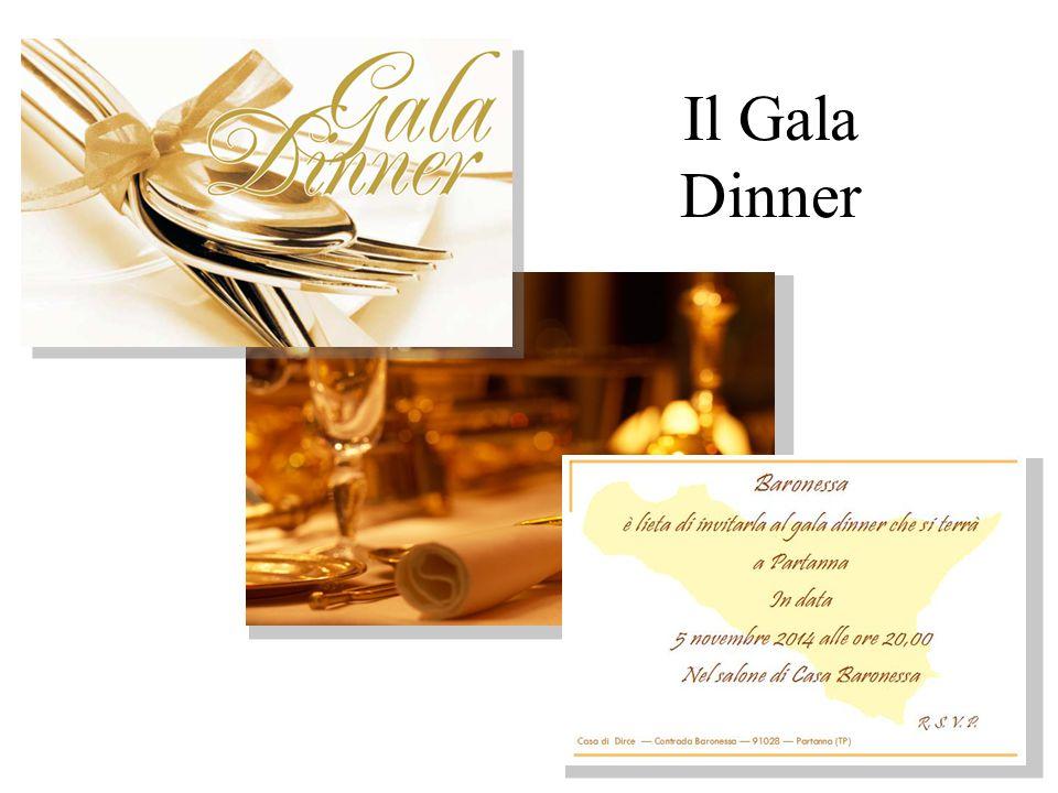 Il Gala Dinner