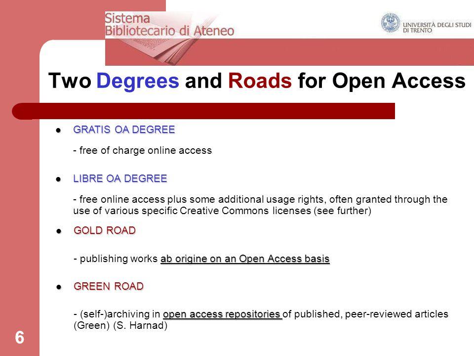 DRSBA.Ufficio Anagrafe della ricerca, Archivi istituzionali e supporto editoriale 37 PART TWO a.