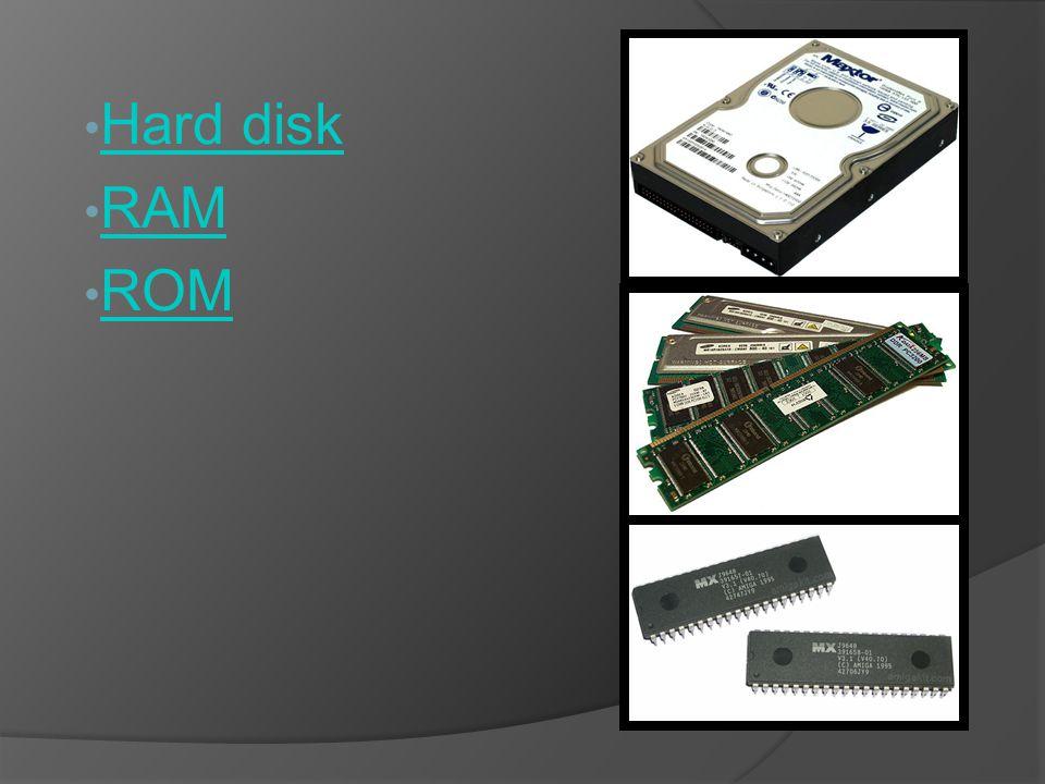 Hard disk o disco rigido Un disco rigido, anche chiamato disco fisso o hard disk drive, è un dispositivo di memoria di massa che utilizza uno o più dischi magnetici per l archiviazione dei dati