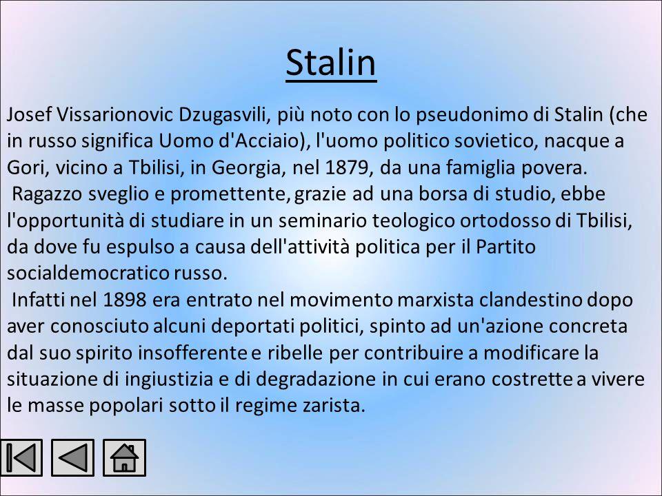 Lenin Lenin nasce nel 1870 a Uianovks. Gli anni di studio e di adolescenza coincisero con uno dei periodi più movimentati della storia sociale e polit