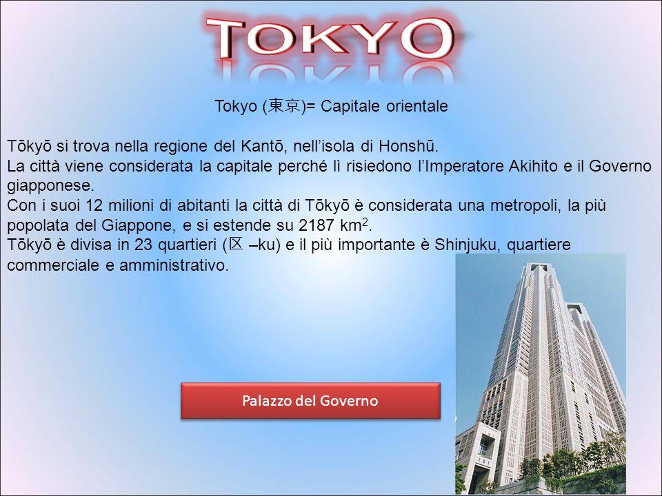 Giappone Informazioni Nome Completo: Giappone Nome ufficiale: 日本国 Lingua ufficiale: giapponese Capitale: Tokyo (12.544.205 ab.) Politica Governo: Mona