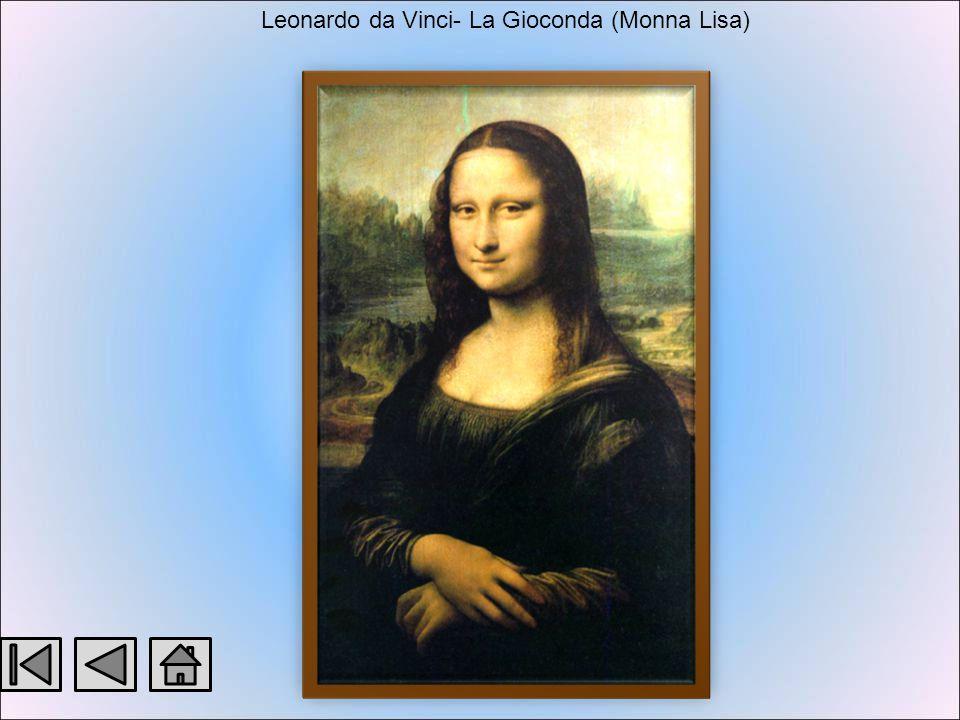 I disegni Paesaggio toscano, 1473, Firenze, Uffizi Isabella d'Este, Parigi, Louvre La scapigliata, Parma, Galleria Nazionale Studi per la Battaglia d'