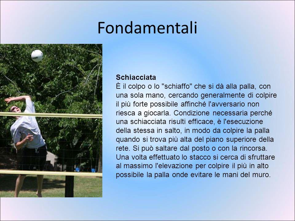 Attrezzature Il pallone con la colorazione usata dai campionati italiani.