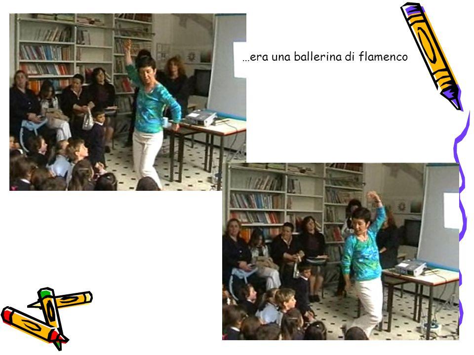 5 …era una ballerina di flamenco