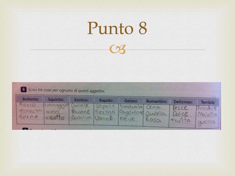  Punto 8