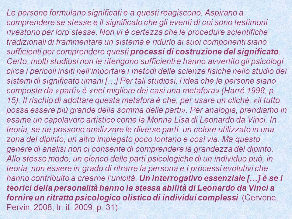 La psicologia della personalità rappresenta una competenza importante per chi si relaziona, per professione, con altri esseri umani.