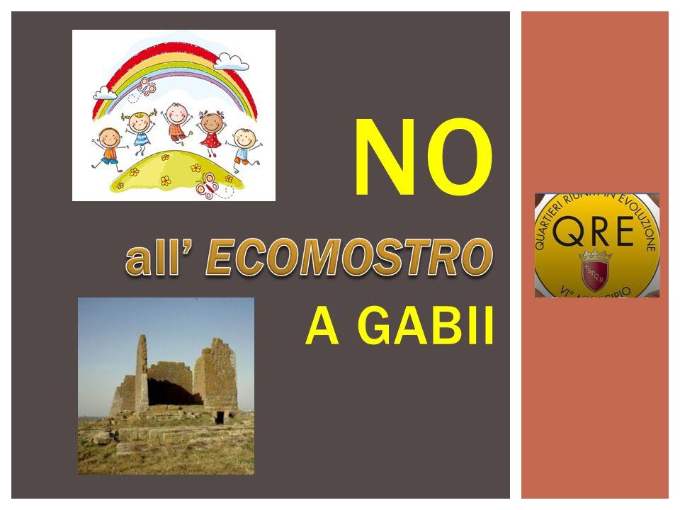 PARCO ARCHEOLOGICO DI GABII A 200 ML UNA DELLE AREE ARCHEOLOGICHE PIU' IMPORTANTI NEL MONDO CON LA NECROPOLI DELL'OSA.