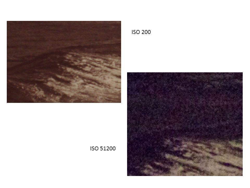 ISO 200 ISO 51200
