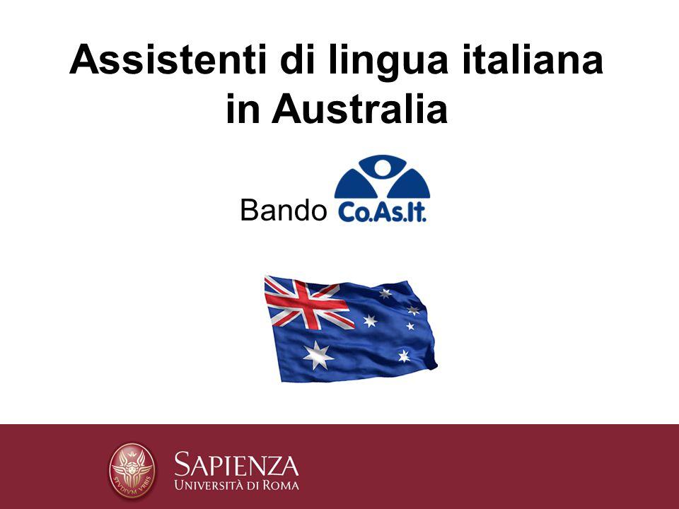 Bando Assistenti di lingua italiana in Australia