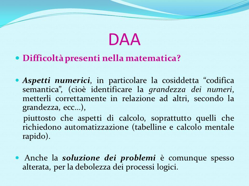 Diagnosi di DSA 3) Criterio della discrepanza : 1.