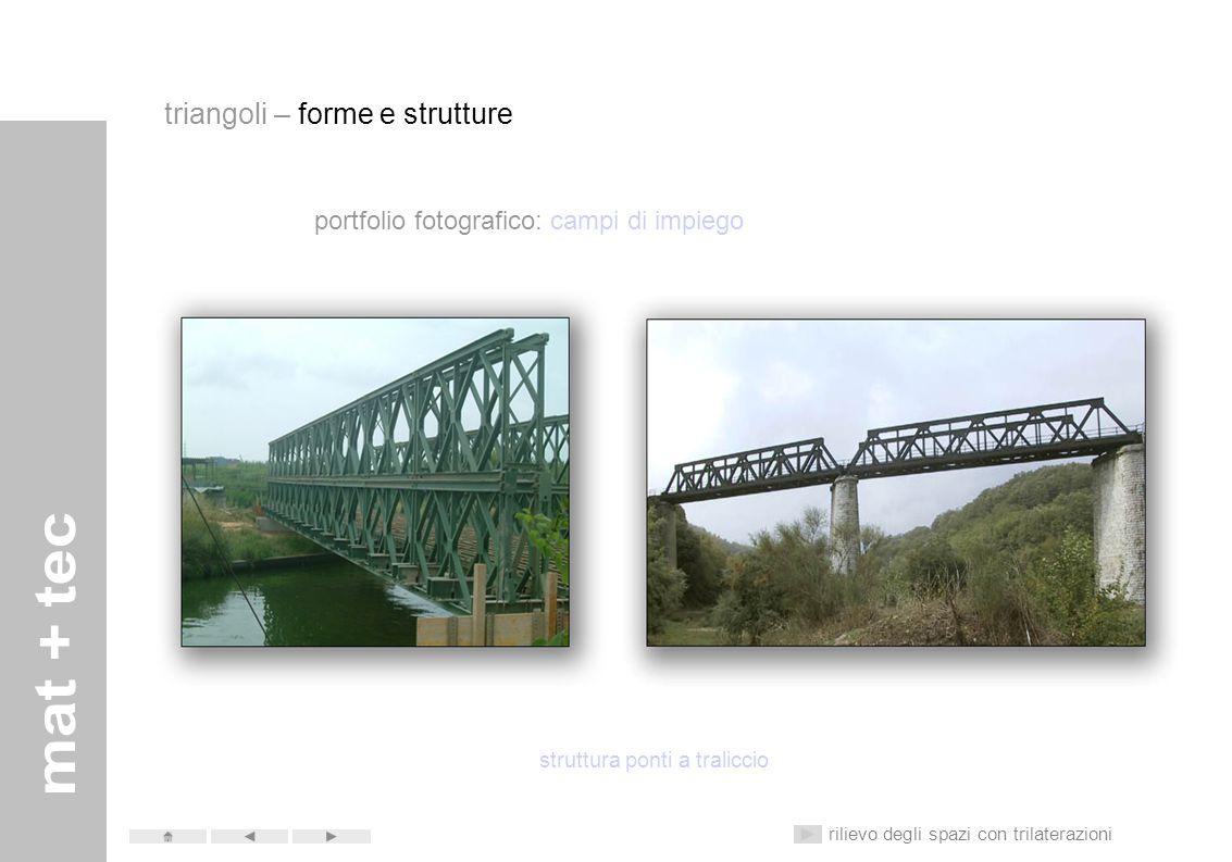 portfolio fotografico: campi di impiego struttura scaffali e mobili rilievo degli spazi con trilaterazioni triangoli – forme e strutture