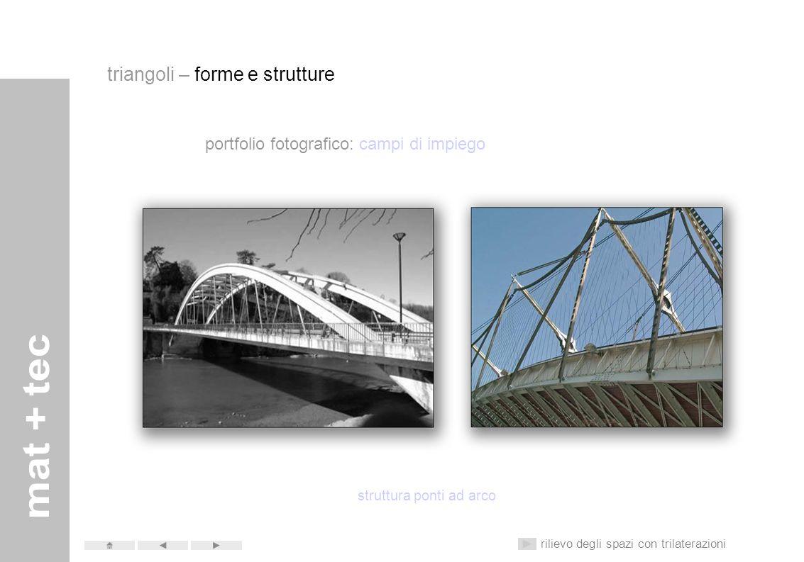 portfolio fotografico: campi di impiego struttura ponti con cavi triangoli – forme e strutture