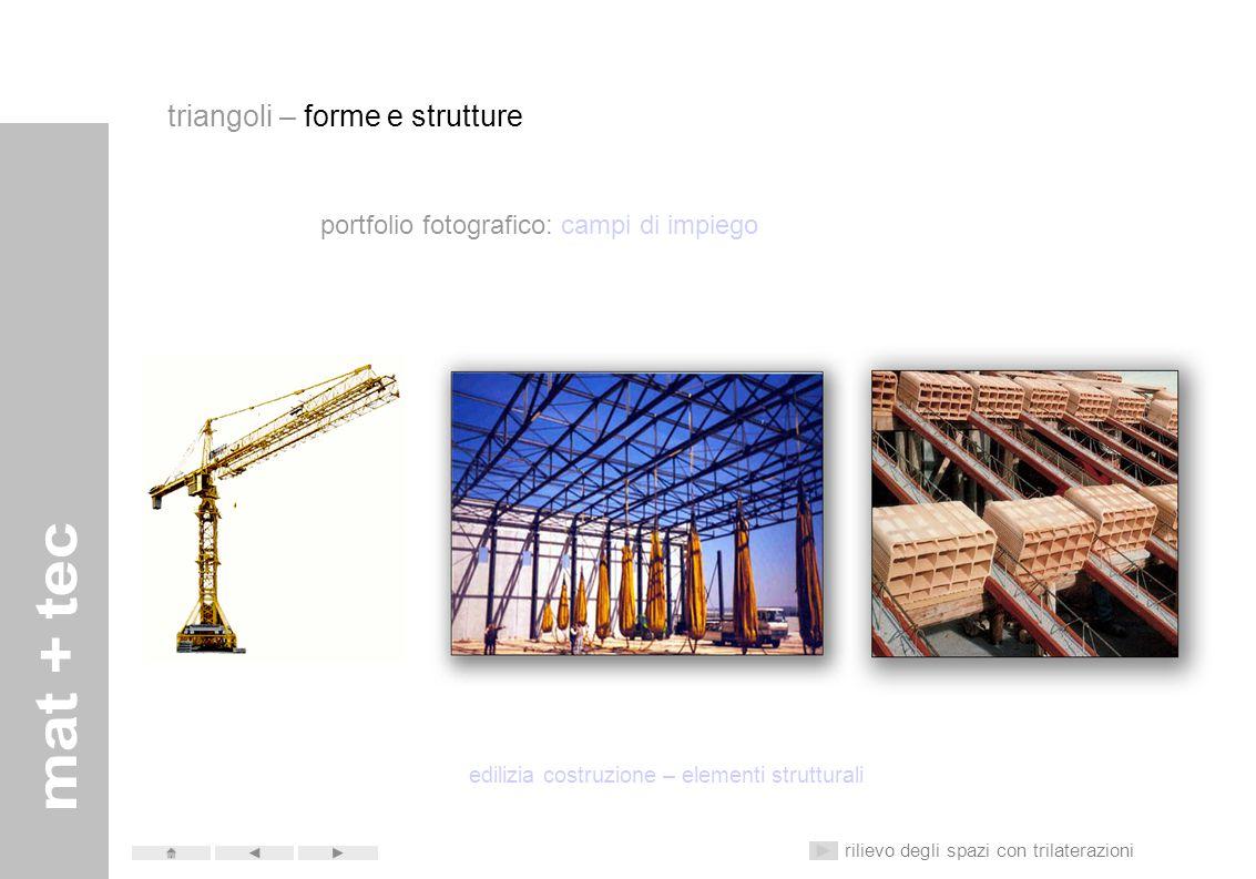 portfolio fotografico: campi di impiego allestimenti sportivi temporanei rilievo degli spazi con trilaterazioni triangoli – forme e strutture