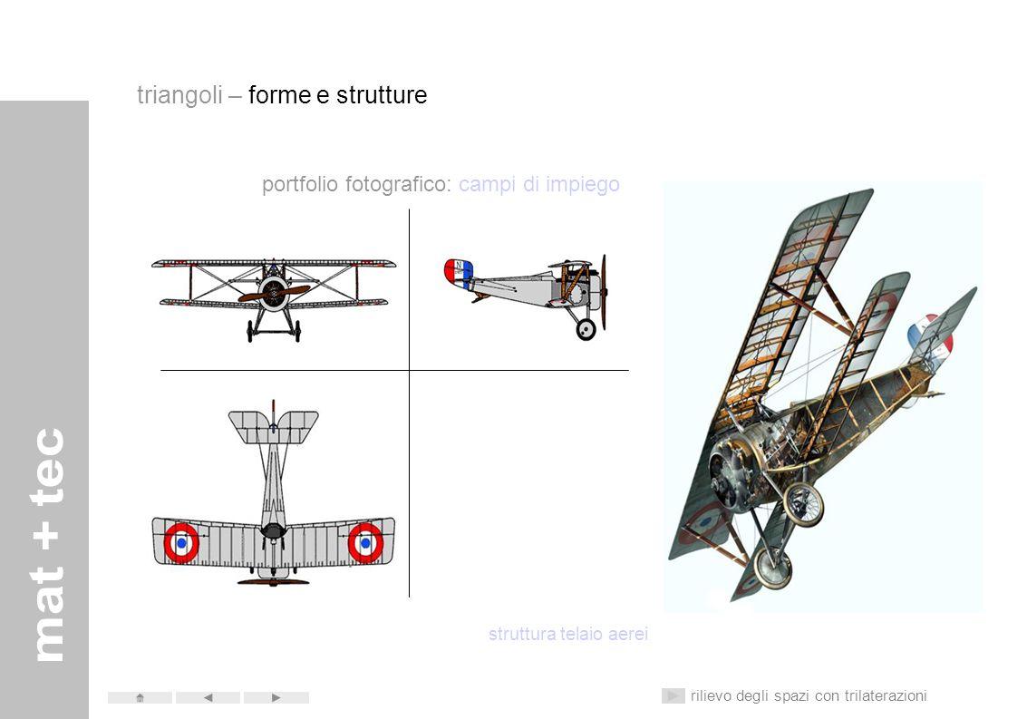 portfolio fotografico: campi di impiego edilizia – elementi a vista rilievo degli spazi con trilaterazioni triangoli – forme e strutture