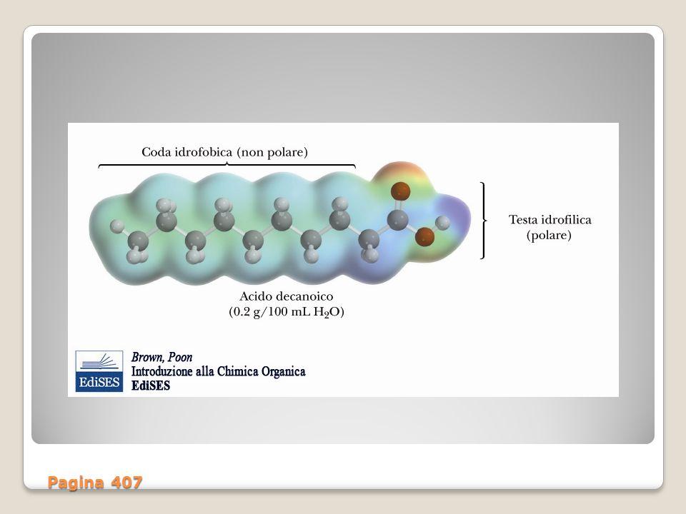8 CARATTERISTICHE FISICHE DEGLI ACIDI GRASSI Lo stato fisico degli acidi grassi è in relazione al n° di atomi di C che sono presenti nella catena: fino a circa 8 atomi sono allo stato liquido.