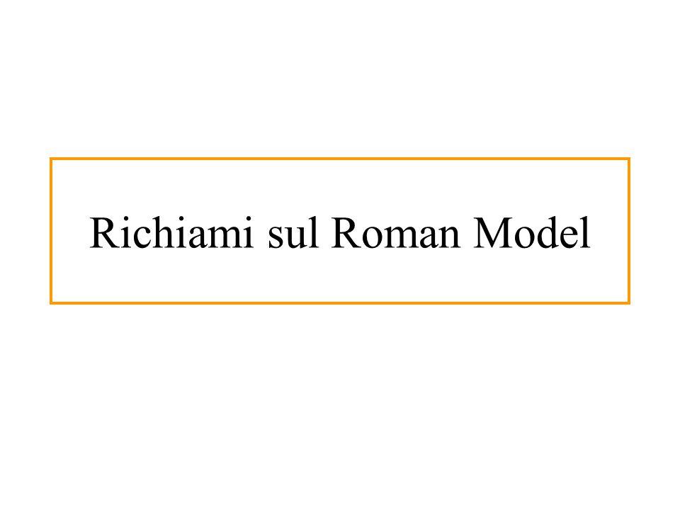 Richiami sul Roman Model