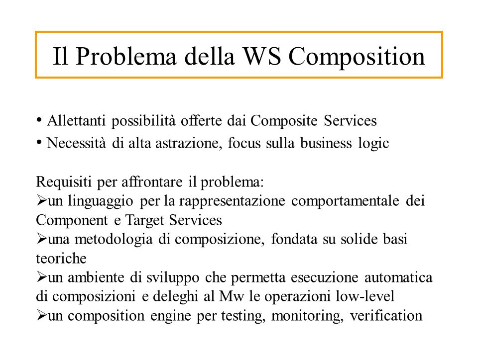 Our Approaches in the WS Composition 3D Space Statics in the System Dynamics in Component Services Dynamics in Client Target Request ASTRO ROMAN MODEL