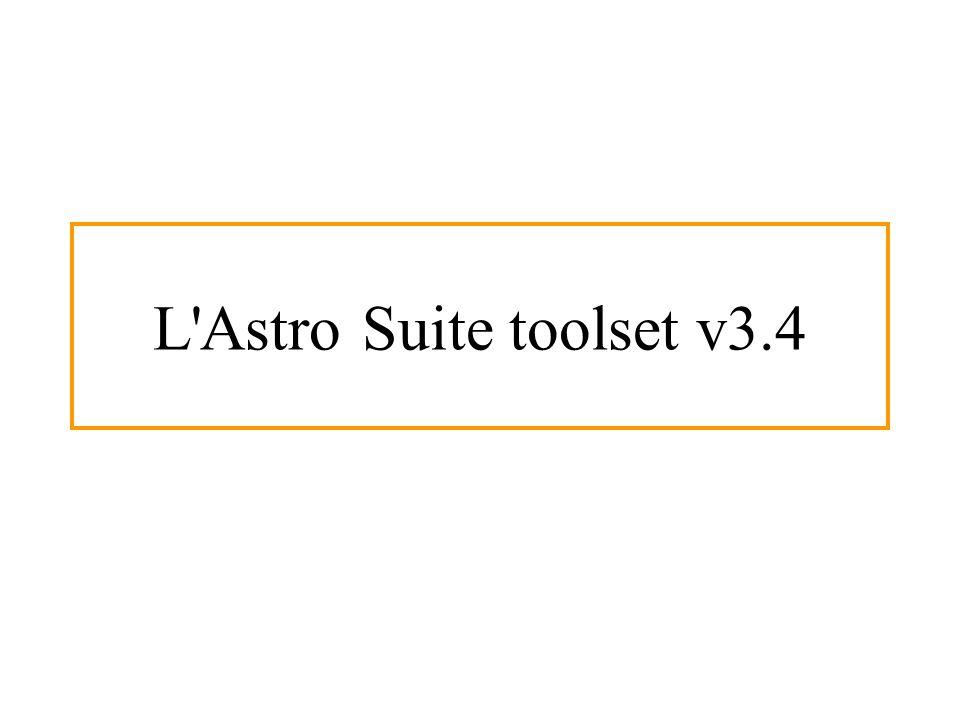 L Astro Suite toolset v3.4