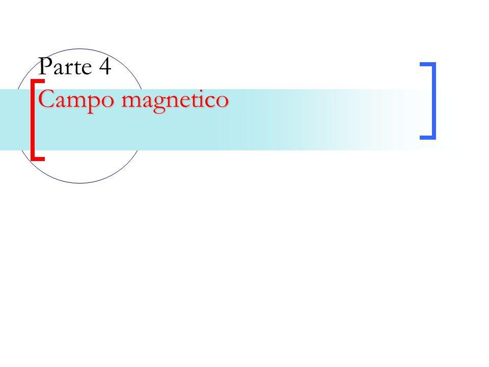 Campo magnetico Parte 4 Campo magnetico