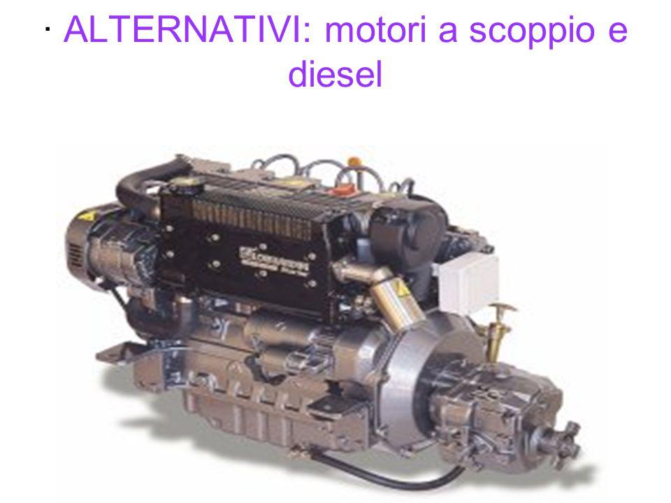· ALTERNATIVI: motori a scoppio e diesel